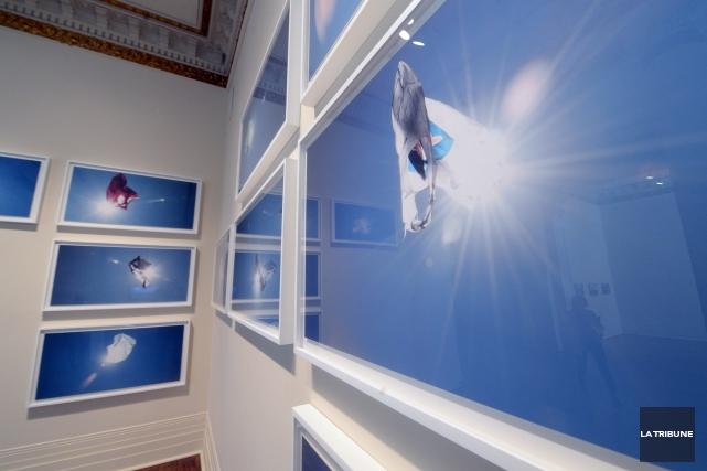 Dans son exposition Aux confins, l'artiste montréalais Laurent Lévesque... (Imacom, Maxime Picard)