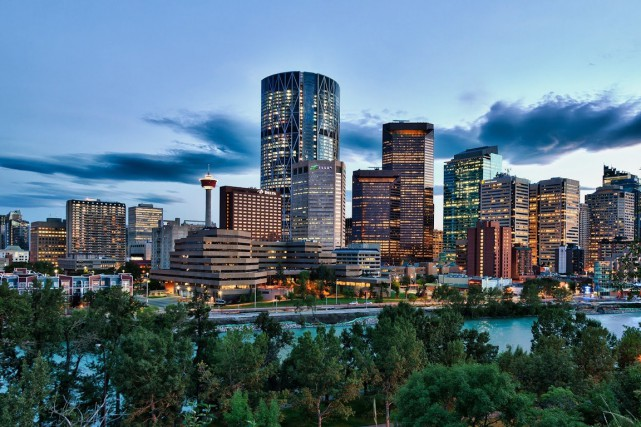 Calgary... (PHOTO FOURNIE PAR VISIT CALGARY)