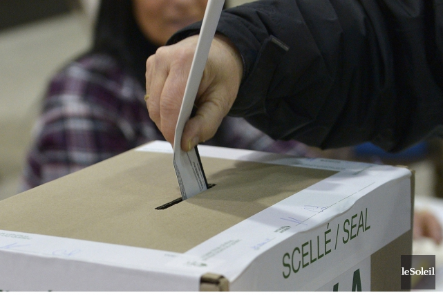 Les candidats à l'élection du 19 octobre auraient... (Photo: Le Soleil)