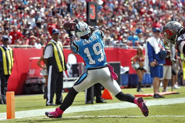 Les Panthers ont eu la main heureuse en... (AP, Brian Blanco)