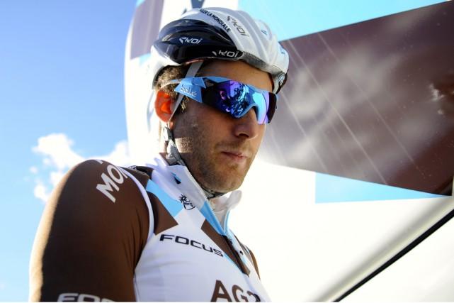En plus de ses bons résultats, Hugo Houle... (Photo: ag2r la mondiale/Yves Perret)
