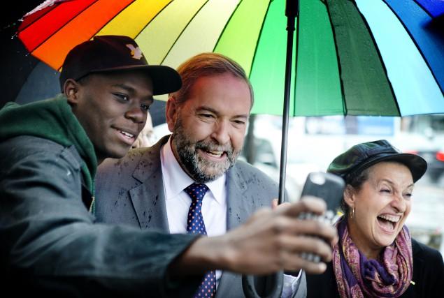 Dans le cadre de la présente campagne électorale... (La Presse Canadienne)