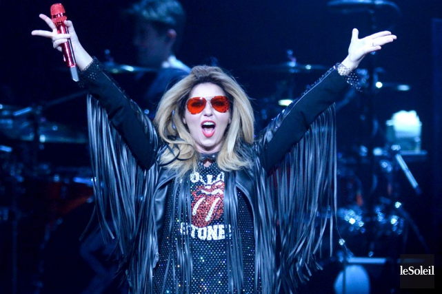 Shania Twain a orchestré avec cette tournée un... (Le Soleil, Jean-Marie Villeneuve)