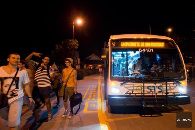 Un autre incident est survenu dans un autobus de la Société de transport de... (Archives, La Tribune)