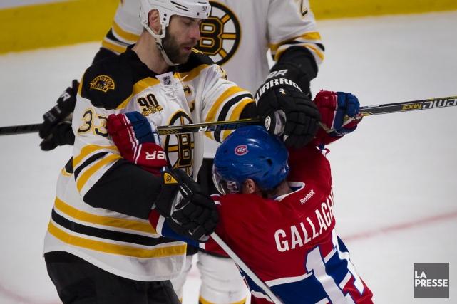Les Bruins ont raté les séries la saison... (Photo d'archives, La Presse)