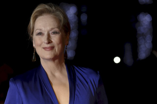 Meryl Streep... (Photo Luke MacGregor, Reuters)