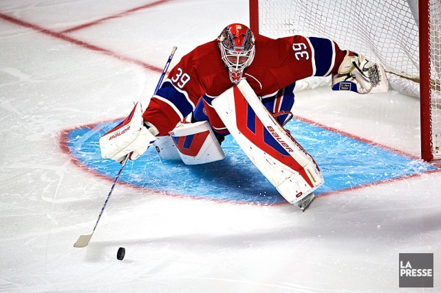 Mike Condon sera devant les filets du Canadien... (Archives, La Presse)