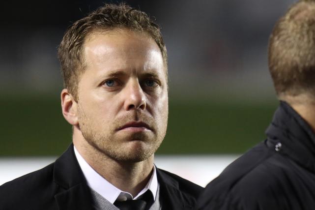 L'entraîneur-chef du Fury d'Ottawa, Marc Dos Santos... (Patrick Woodbury, LeDroit)