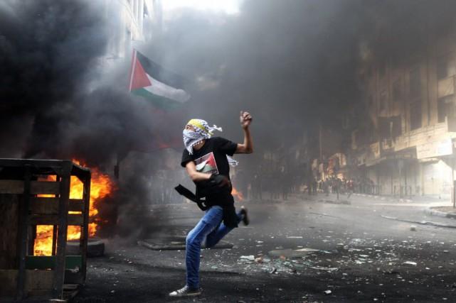 La Cisjordanie et Jérusalem occupées ont, elles, continué... (PHOTO HAZEM BADER, AFP)