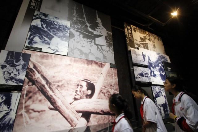 La prise de Nankin, alors capitale de la... (Photo AFP)