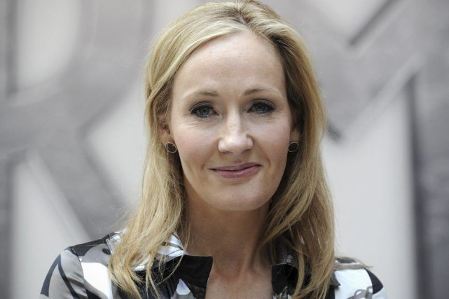 J.K. Rowling... (PHOTO CARL COURT, ARCHIVES AGENCE FRANCE-PRESSE)