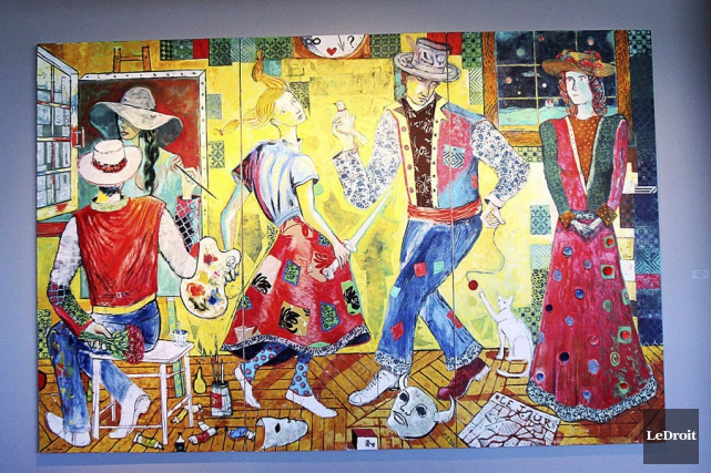La Danse de la Vie, deJohn F. Marok... (Etienne Ranger, LeDroit)