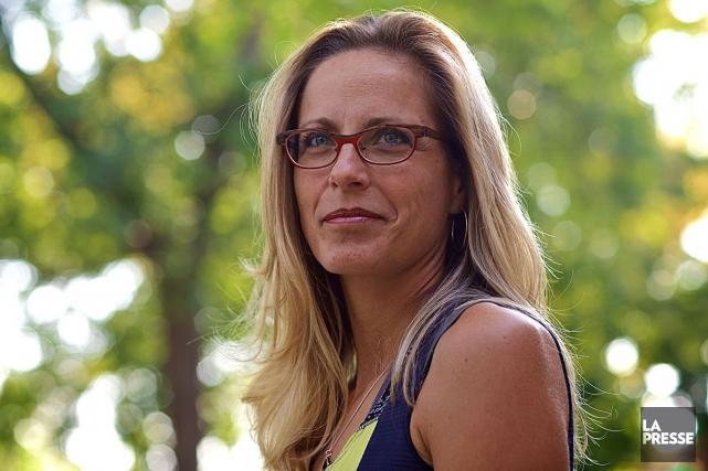 La romancièreMarie-Renée Lavoie... (André Pichette, La Presse)