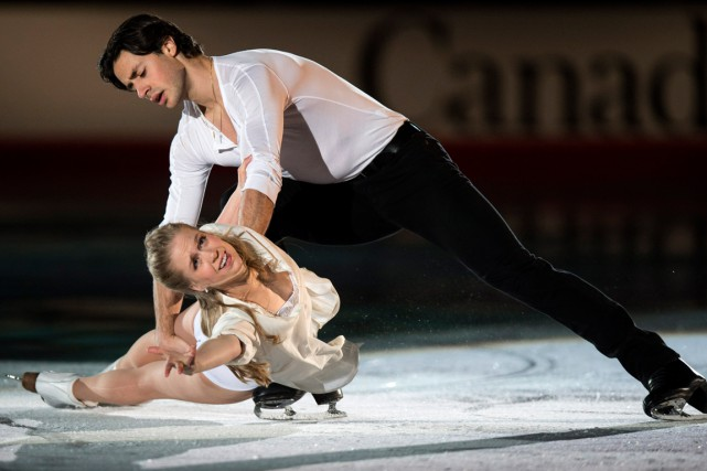 Kaitlyn Weaver et Andrew Poje... (PHOTO PAUL CHIASSON, ARCHIVES PC)