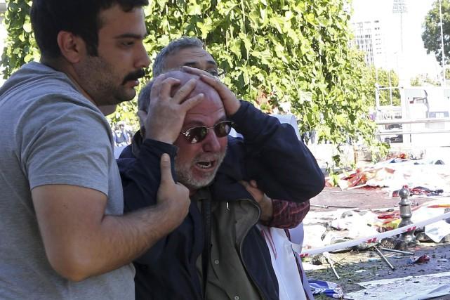 L'attentat est survenu à Ankara, en Turquie.... (AFP, ADEM ALTAN)