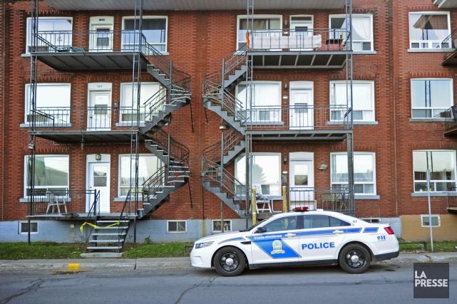 L'agression est survenue dans un appartement de la... (Photo: Andréanne Lemire)