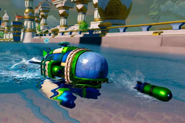 Activision a ajouté les véhicules dans la version SuperChargers des Skylanders,...
