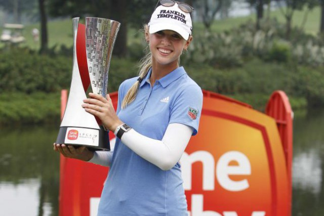 Jessica Korda... (Photo Joshua Paul, AP)