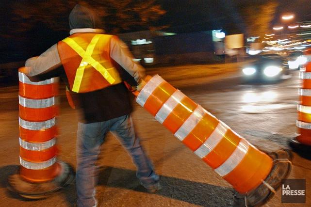 Selon Lionel Perez, 90% des 433 chantiers achevés... (Archives La Presse)