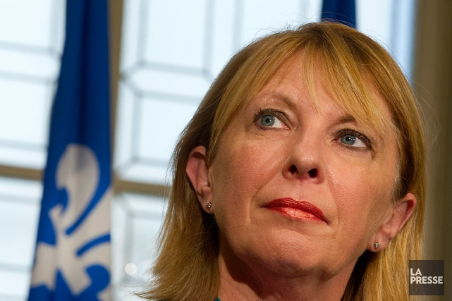 La ministre québécoise des Relations internationales, Christine St-Pierre.... (PHOTO IVANOH DEMERS, ARCHIVES LA PRESSE)