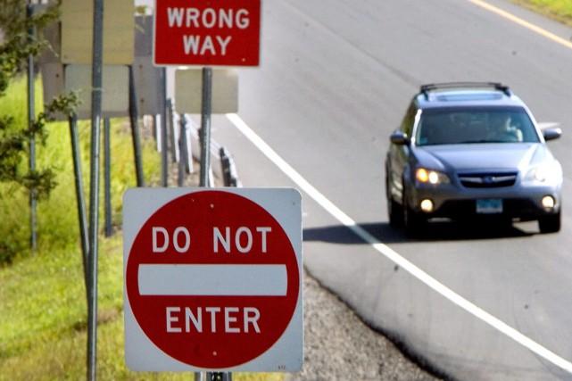 Deux Britanniques ont pris une autoroute autrichienne à contresens pendant 25... (Photo Steven Valenti, archives AP)