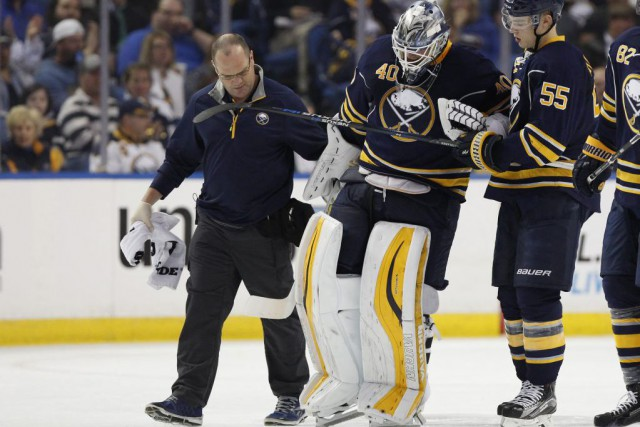 Robin Lehner... (Photo Kevin Hoffman, USA TODAY Sports)