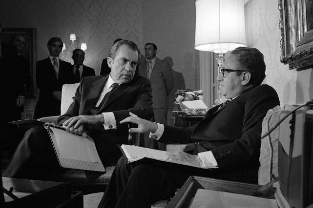 Sur cette photo du 25 novembre 1972, le... (PHOTO AP)