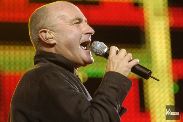 Phil Collins en spectacle au Centre Bell en... (Photo Martin Tremblay, archives La Presse)