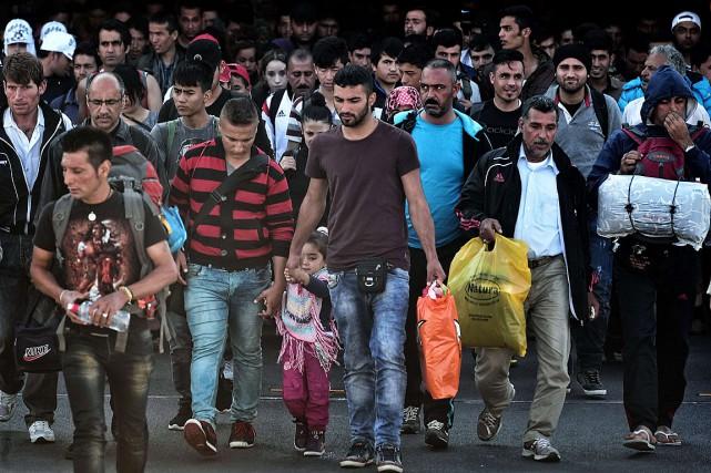 La Grèce a enregistré depuis janvier plus de... (PHOTO LOUISA GOULIAMAKI, AFP)