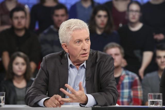 Gilles Duceppe à Tout le monde en parle... (ICI Radio-Canada)