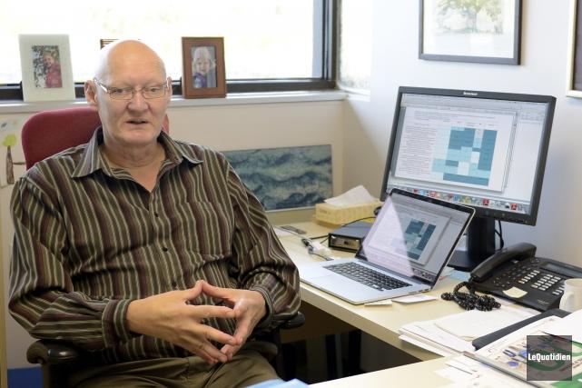 Le directeur de la Chaire en éco-conseil de... ((Photo Le Quotidien, Jeannot Lévesque))