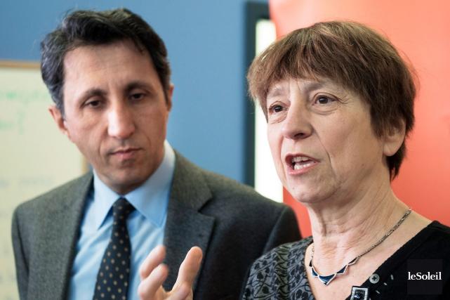 Amir Khadir et de Françoise David souhaitent faire... (Photothèque Le Soleil)