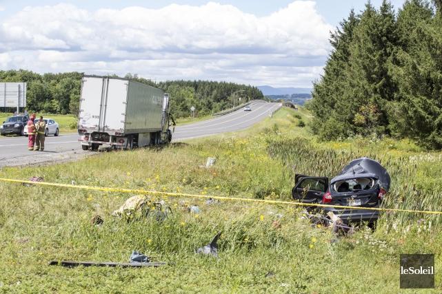 Un accident mortel survenu le 7 août sur... (Photothèque Le Soleil)