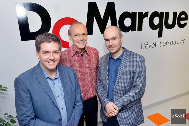Marc Boutet, Guy Bergeron et Christian Roy sont... (Le Soleil, Jean-Marie Villeneuve)