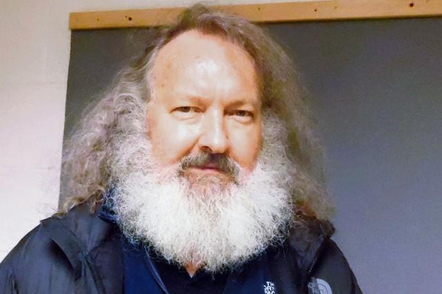 Randy Quaid, le 9 octobre, photographié dans les... (AP, Police de l'État du Vermont)