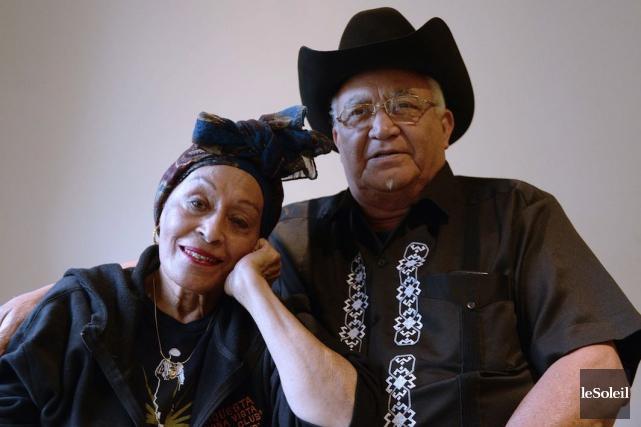 La chanteuse Omara Portuondo et le guitariste Eliades... (Photothèque Le Soleil)