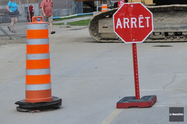 La Tuque tiendra des travaux à l'intersection des... (Photo: Le Nouvelliste, Archives)