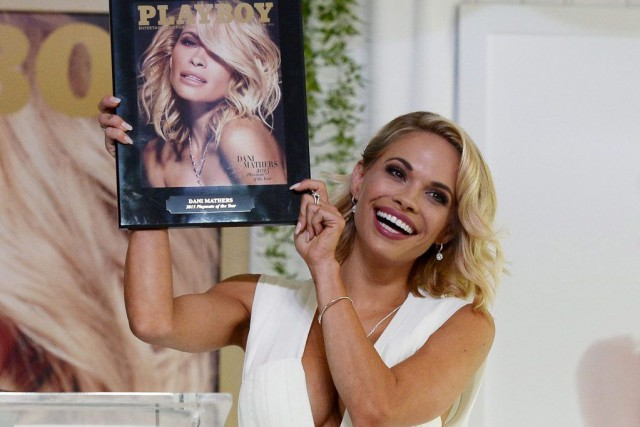 Dani Mathers, Playmate de l'année 2015.... (PHOTO KEVORK DJANSEZIAN, ARCHIVES REUTERS)