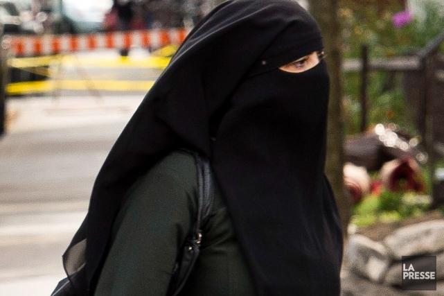Pas étonnant que l'histoire du niqab vienne hanter les chefs de partis... (Archives La Presse)