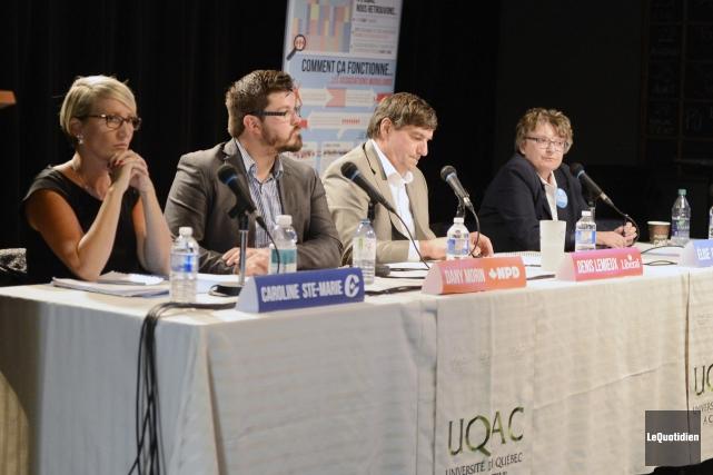 Les candidats dans Chicoutimi-Le Fjord, Caroline Ste-Marie, candidate... ((Archives Le Quotidien))