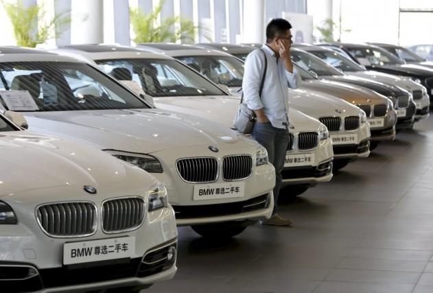 La vente de voitures en Chine avait commencé... (PHOTO PHKIM KYUNG-HOON, REUTERS)