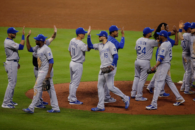 Les Royals de Kansas City ont remporté une... (Photo Patric Schneider, AP)