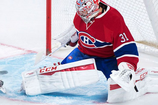 Carey Price.... (Graham Hughes, La Presse Canadienne)