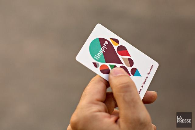 La nouvelle carte Inspire permet aux clients de... (Photo Olivier Jean, La Presse)
