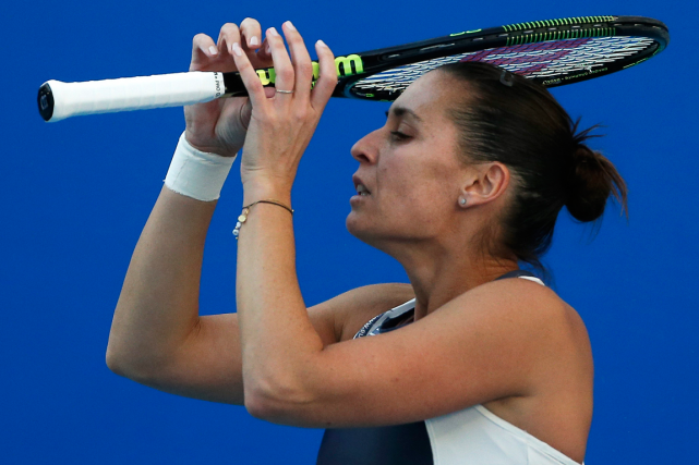 Flavia Pennetta... (Photo Andy Wong, archives AP)