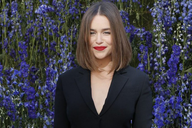 Emilia Clarke... (PHOTO ARCHIVES AP)