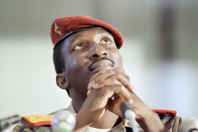 Thomas Sankara, le «père de la révolution burkinabè»... (PHOTO ARCHIVES AFP)