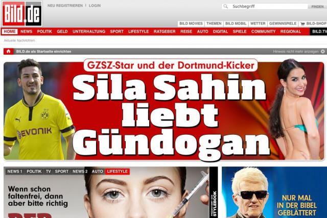Le tabloïd allemand Bild a annoncé mardi qu'il bloquait avec effet...
