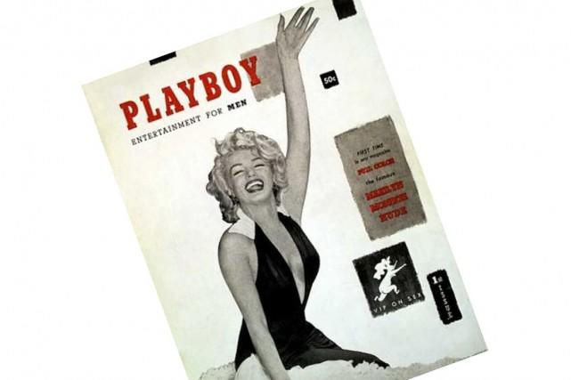 Le premier numéro de Playboy en 1953 mettait...