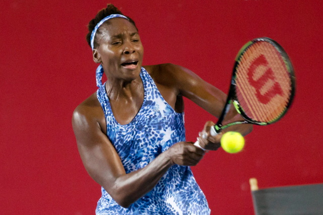 Venus Williams... (Photo Kin Cheung, AP)